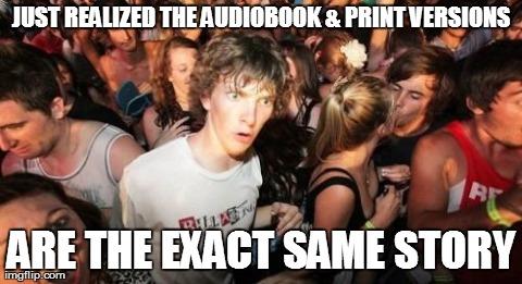 Audiobook Memes for #Listen2aBook